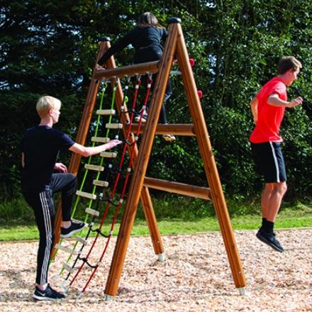 Timber Clad Climber